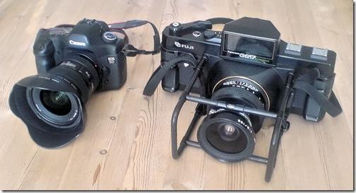 Canon5D vs Fuji 617