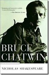 Bruce Chatwin from the cover of the biography by Nicholas Shakespeare