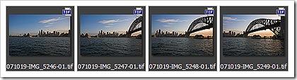 Sydney Panorama 4 tiff files