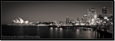 Sydney Duotone Panorama. Flemming Bo Jensen Photography