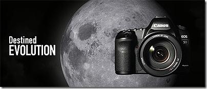 Canon 5D Mk II. Photo copyright Canon.