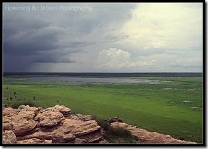 Ubirr in the wet season