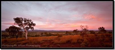 Karijini Sunrise. Flemming Bo Jensen Photography