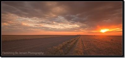 Namib desert into the sun 2. Flemming Bo Jensen Photography