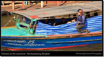 Ramkanphaeng boat ticketeer