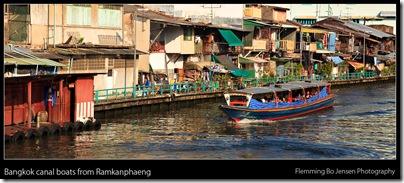 Ramkanphaeng canal boat