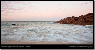 Wyadup Rocks sunrise - blog