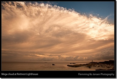 Rottnest lighthouse cloud - blog