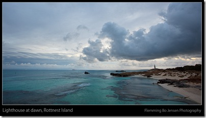 Rottnest lighthouse dawn - blog