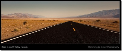 death valley road - blog