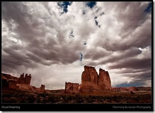 Clouds - Arches - blog