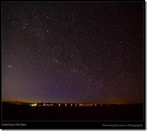 Stars - VLA - blog