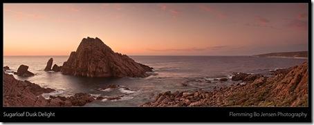 Sugarloaf in dusk light - blog
